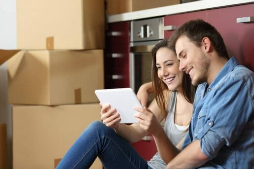 Couple who learn that there is an alternative to guaranteed mortgage insurance