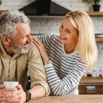 Couple qui a obtenu une assurance vie rapide