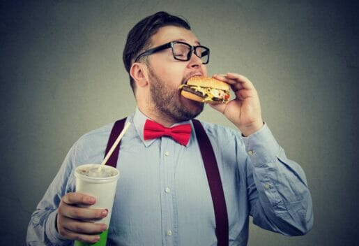 Man with life insurance and excess weight