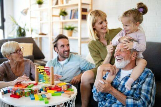 Une famille qui a choisi l'assurance vie pour un héritage à ses enfants