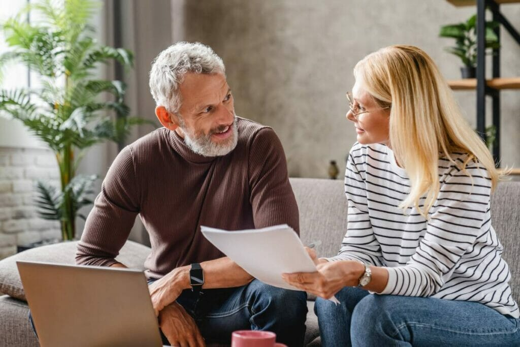 Couple Buying Life Insurance Without Online Medical Exam