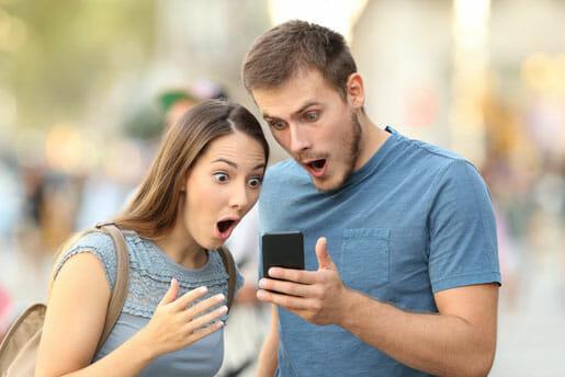 Couple ayant trouve le meilleur prix d'assurance vie