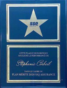 Plaque SSQ assurance pour SoumissionAssuranceVie.ca